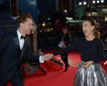 Tom Hiddleston and Natalie Portman