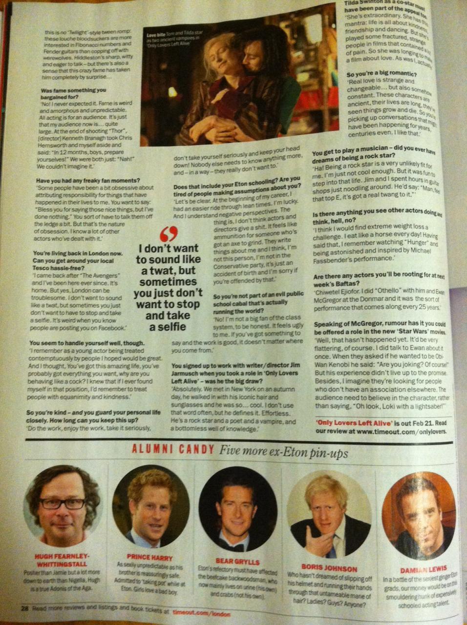 Entrevistas | Tom Hiddleston México | Página 5