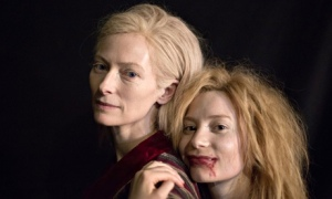 Tilda Swinton and Mia Wasikowska, in Jim Jarmusch's Only Lovers Left Alive