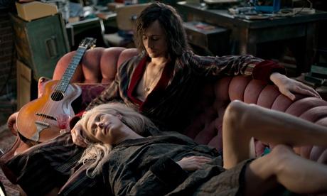 Tom Hiddleston and Tilda Swinton in Only Lovers Left Alive.