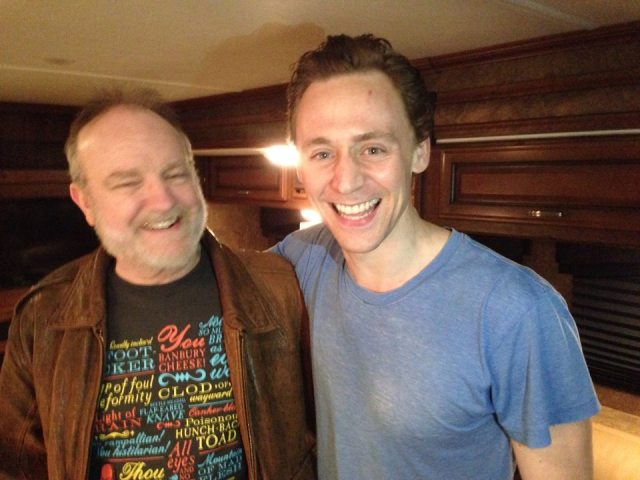 Jim Beaver Tom Hiddleston
