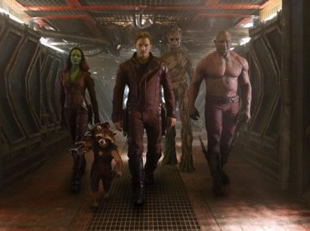 Gamora, Rocket, Star-Lord, Groot y Drax, los Guardianes de la Galaxia. / Collider.com