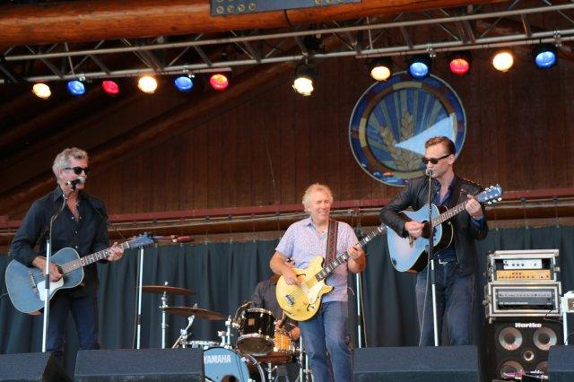 El actor subió al escenario junto a la banda del artista country  Rodney Crowell / Foto: Flickr Petra Daher