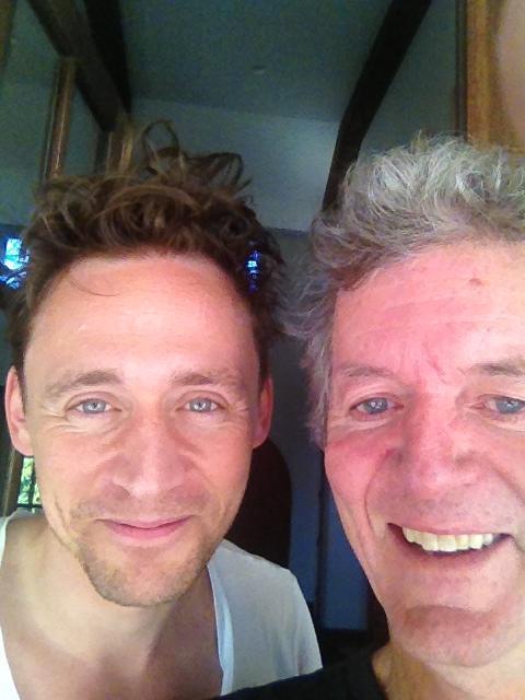 Tom y Rodney / Foto tomada del facebook de Rodney Crowell