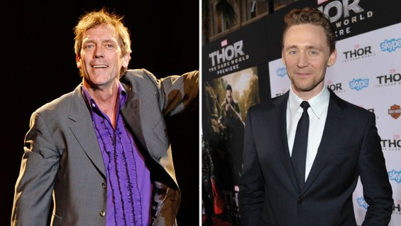 Hugh Laurie y Tom Hiddleston