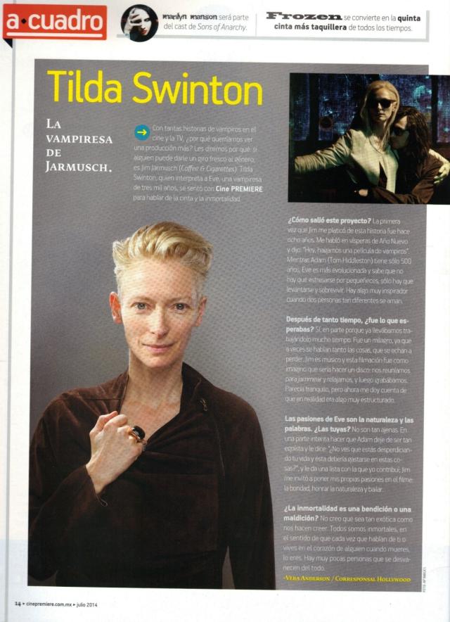 Tilda Swinton - CP