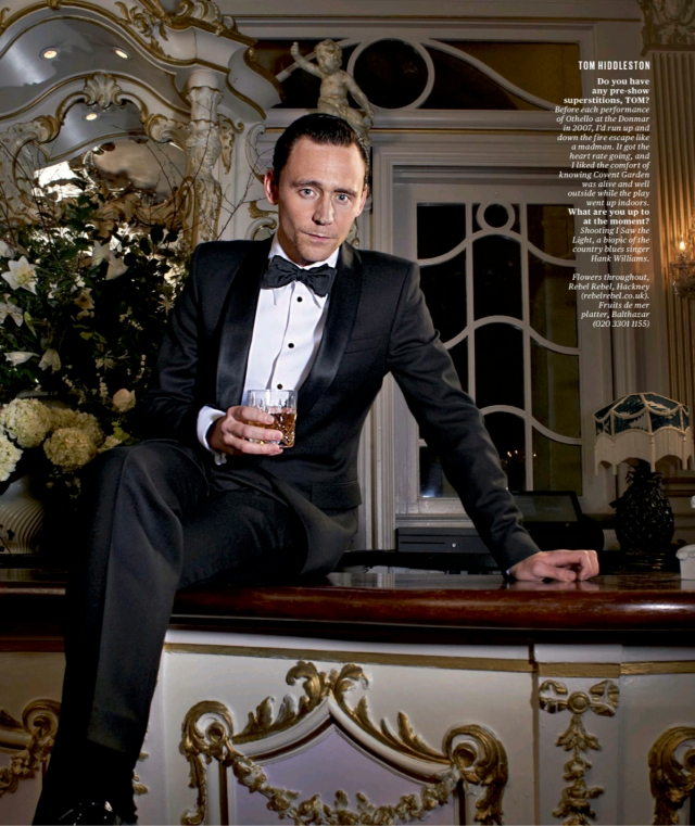 Tom Hiddleston - ES Magazine