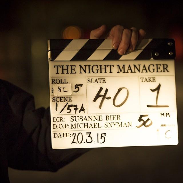 La filmación de #TheNightManager está en marcha. Nuestra adaptación de seis partes será protagonizada por #TomHiddleston, #HughLaurie, #OliviaColman, #TomHollander y #ElizabethDebicki. #bts #behindthescenes #originalbritishdrama #bbcone #bbcdrama 23 de marzo 2015 - 5:12 AM
