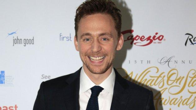 Tom Hiddleston será el protagonista en el papel principal (Jonathan Brady / PA)